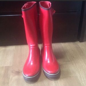 Be ready for spring ☔️Kate Spade Rain boots